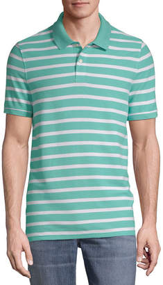 ST. JOHN'S BAY Mens Short Sleeve Polo Shirt