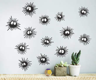 Oakdene Designs Soot Sprite Wall Sticker Set