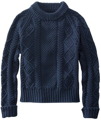 L.L. Bean L.L.Bean Women's Signature Cotton Fisherman Sweater