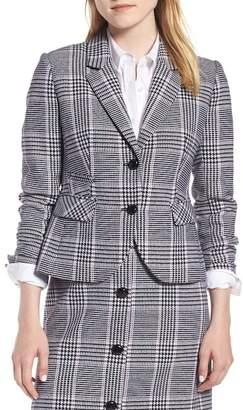 1901 Shrunken Houndstooth Suit Jacket (Regular & Petite)