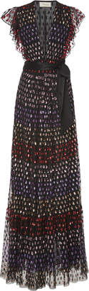 Temperley London Wendy Sequin Silk Lined Organza Dress