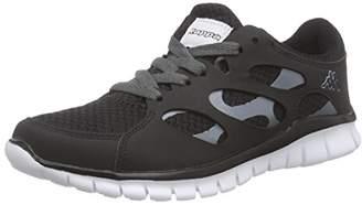Kappa Fox Light Footwear Unisex, Synthetic/mesh, Unisex Adults' Low-Top Sneakers,(39 EU)
