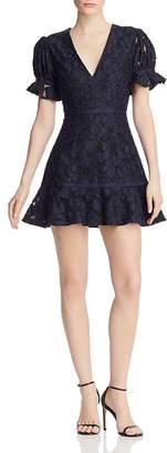 Keepsake Honour Lace Mini Dress