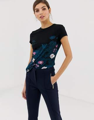 Ted Baker wonderland fitted t-shirt