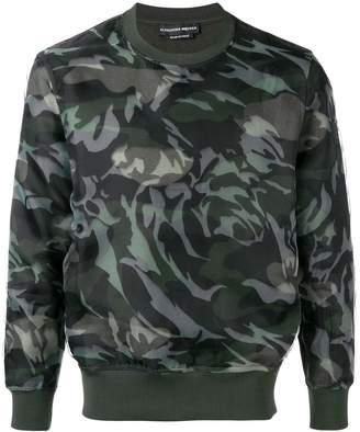 Alexander McQueen camouflage jumper