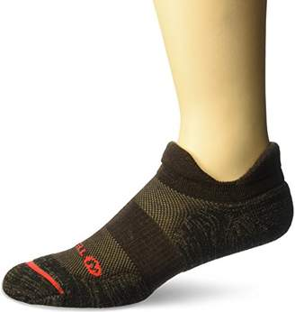 Merrell Men's Dual Tab Trail Runner Sock