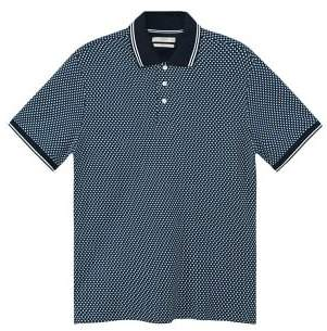 Mango Man MANGO MAN Polka-dot cotton polo shirt