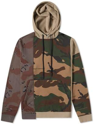 Off-White Off White Reconstructed Camo Popover Hoody