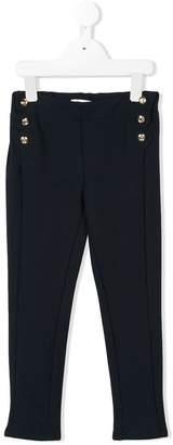 Chloé Kids side button trousers