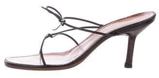 Gucci Open-Toe Slide Sandals