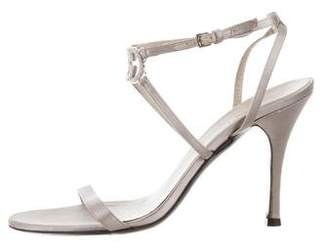 Gucci Embellished Ankle-Strap Sandals