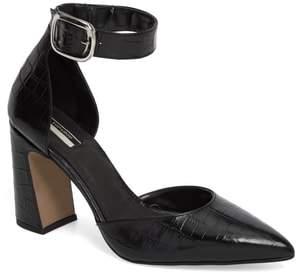 Topshop Geisha Ankle Strap Pump