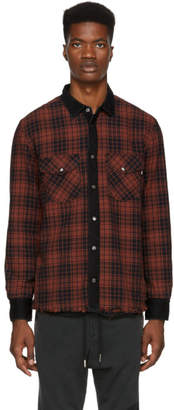 Diesel Reversible Red and Black D-Wear Shirt
