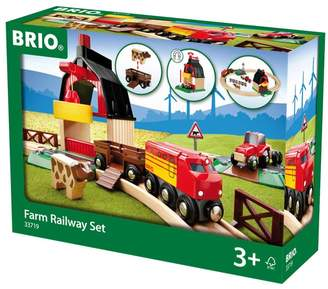 Brio Girls World Farm Railway Set