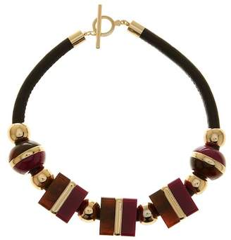 Trina Turk Oversized Cubes Necklace