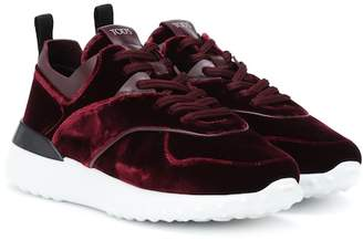 Tod's Exclusive to Mytheresa – velvet sneakers