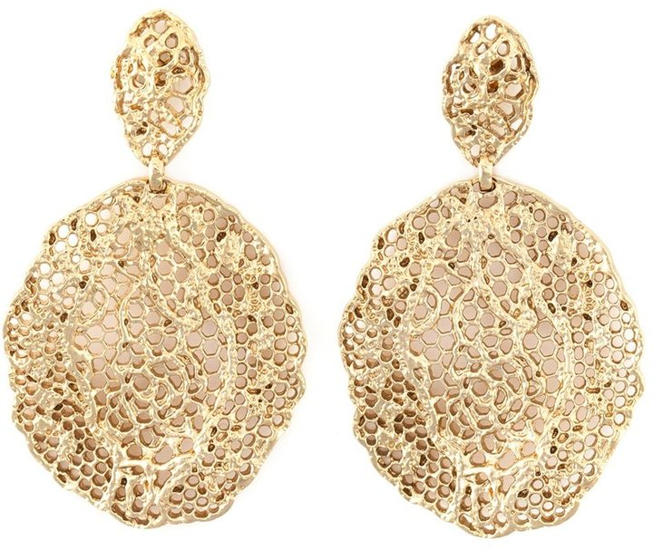 Aurelie Bidermann Aurelie Bidermann 'Vintage Lace' earrings