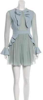 DANIELE CARLOTTA Long Sleeve Mini Dress