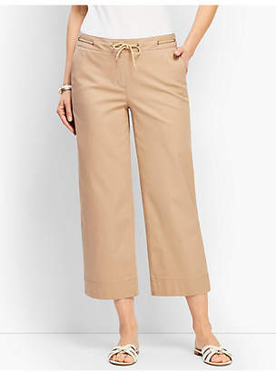 Talbots Rope Tie Wide Crop