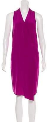 Tibi Sleeveless Silk Dress