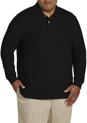 Canyon Ridge Men's Long Sleeve Pocket Pique Polo