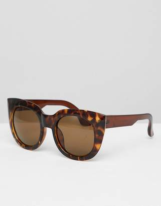Jeepers Peepers Chunky Frame Cat Eye Sunglasses