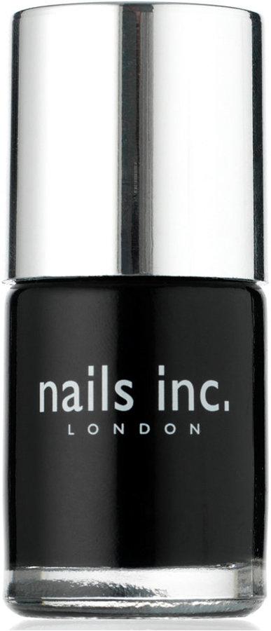 Nails Inc Black Taxi Polish