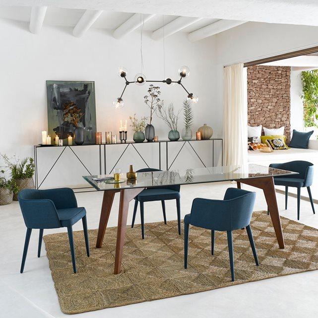 console m tal romy maison. Black Bedroom Furniture Sets. Home Design Ideas