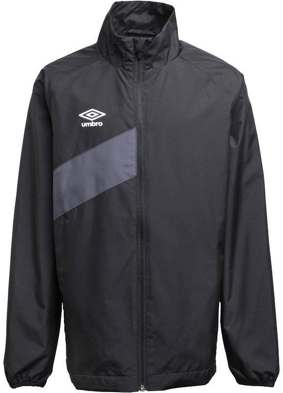 Junior Boys Teamwear Training Shower Jacket Black/Carbon