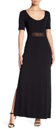 Tart Blake Mesh Paneled Maxi Dress