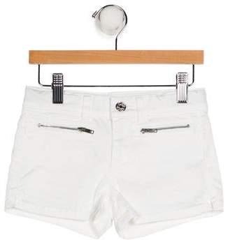 Gucci Girls' Denim Four Pockets Shorts