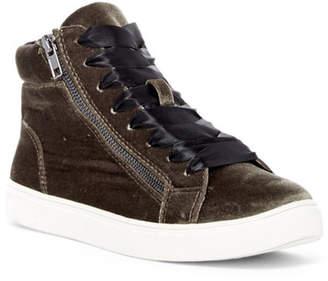 Madden Girl Eppic Velvet Sneaker $59 thestylecure.com