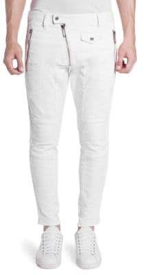 DSQUARED2 Zip Skinny Biker Pants