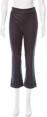 IRO Leather High-Rise Pants