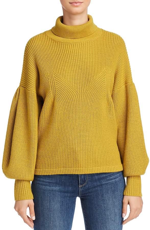Hanita Balloon Sleeve Sweater
