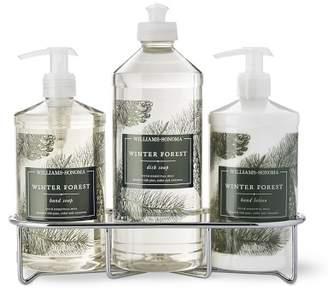 Williams-Sonoma Williams Sonoma Winter Forest Hand Soap & Lotion, Classic 4-Piece Set