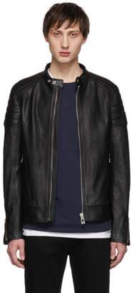 Belstaff Black Lambskin Northcott Jacket