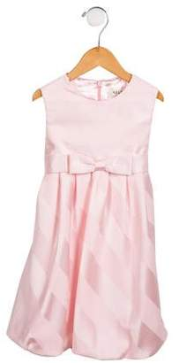 Helena Girls' Striped Sleeveless Dress