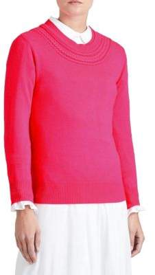 Burberry Crochet Cashmere Sweater