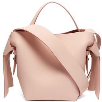 Acne Studios Musubi Small Leather Bucket Bag - Womens - Light Pink
