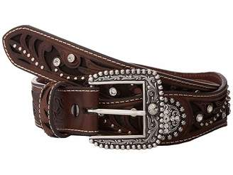 Ariat Scalloped Inlay Rhinestone Belt