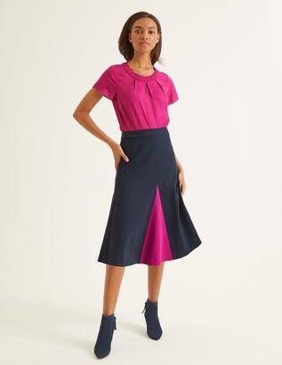 Boden Henrietta Ponte Midi Skirt