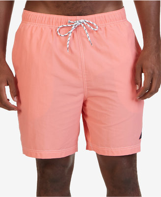 "Nautica Men's 8 1/2"" Swim Trunks $59.50 thestylecure.com"