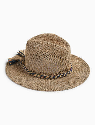 Lucky Brand OPEN WEAVE STRAW HAT