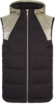BOSS GREEN Metallic Panel Padded Gilet