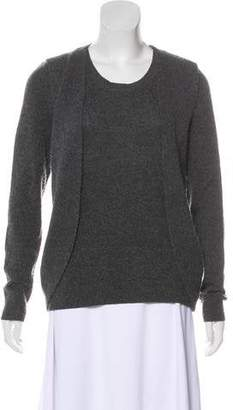 AllSaints Layered Knit Sweater