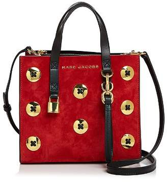 Marc Jacobs Mini Grind Suede Crossbody Tote
