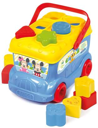 Disney Baby Clementoni - Mickey Mouse Shape Sorter Bus