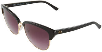 Oscar de la Renta O By Square Acetate/Metal Rimmed Sunglasses