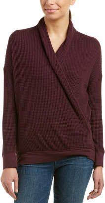 Three Dots Surplice Sweater
